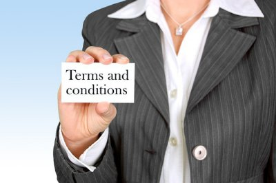 Make sure to read all terms and conditions in real estate.