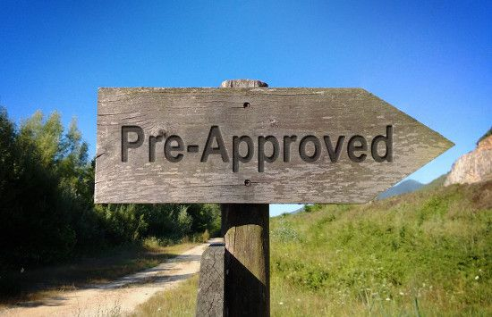 What it means to be pre-approved for a home loan.