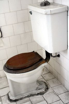 A bad toilet ring can cause bad home smells.