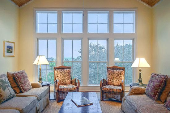 A well lit living room can add value to your home.