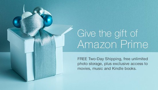 Give the a holiday housewarming gift of amazon prime.
