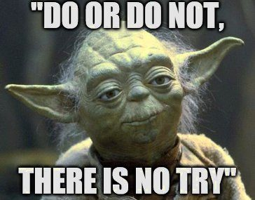 Yoda quote are you really trying to sell your home?