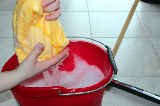 cleaning your home so it is ready to sell.