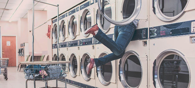 Renters won't miss after buying a home. The laundry mat.