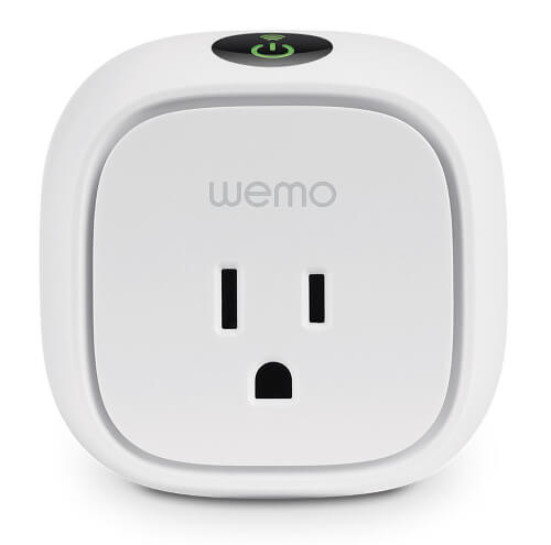 A smart home switch to turn on and off outlets.