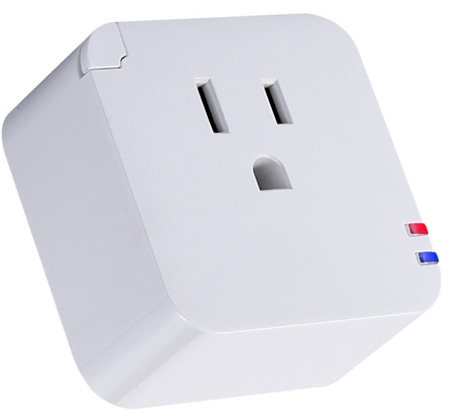 A smart home WiFI smart switch.