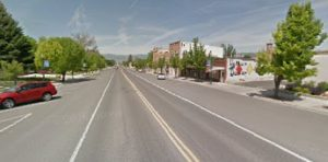 Main street in Mt. Pleasant Utah filled with commercial property examples.
