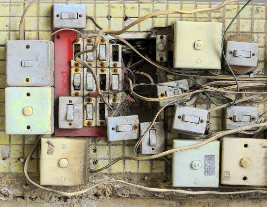 Cleaning light switches is one of the overlooked homeowner spring cleaning tasks.