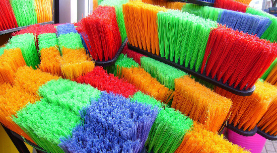 one of the overlooked homeowner spring cleaning tasks is cleaning your cleaning supplies.